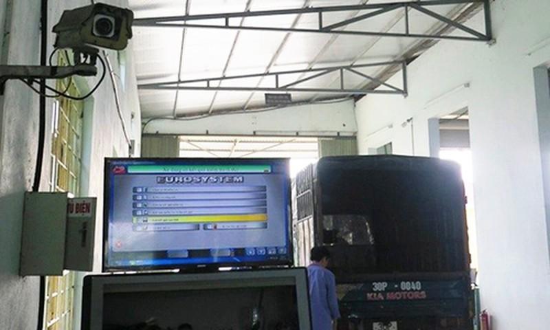 Chủ xe được quyền giám sát quy trình đăng kiểm ô tô qua camera 2a