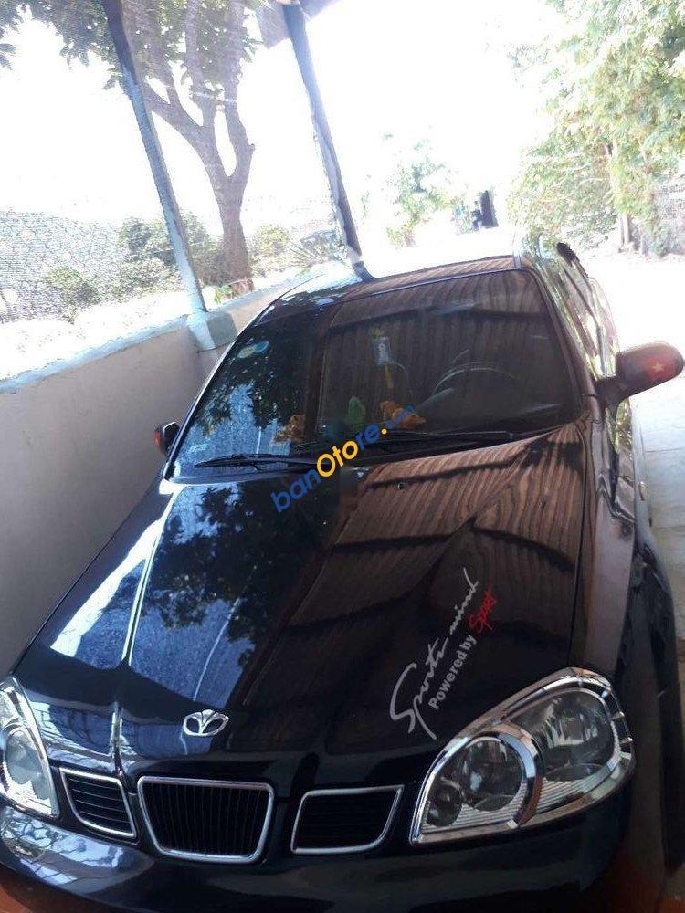 Cần bán lại xe Daewoo Lacetti năm 2005, màu đen, nhập khẩu