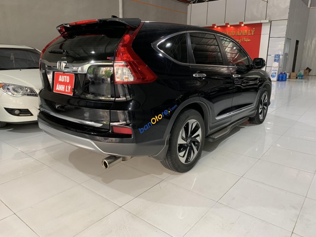 Cần bán Honda CR V 2.4TG năm sản xuất 2017, màu đen, số tự động