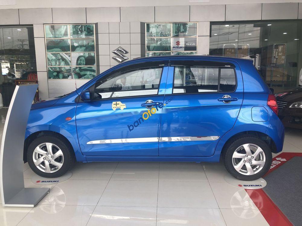 Bán xe Suzuki Celerio sản xuất năm 2019, màu xanh lam, xe nhập