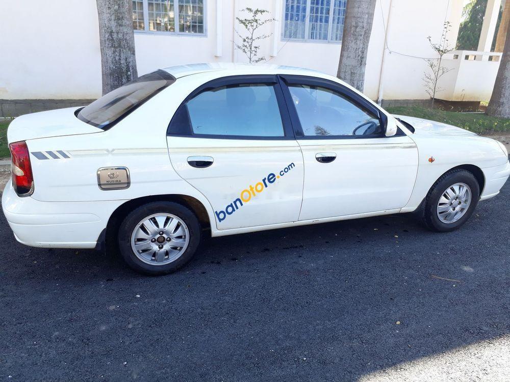 Xe Daewoo Nubira năm sản xuất 2003, màu trắng, giá 95tr