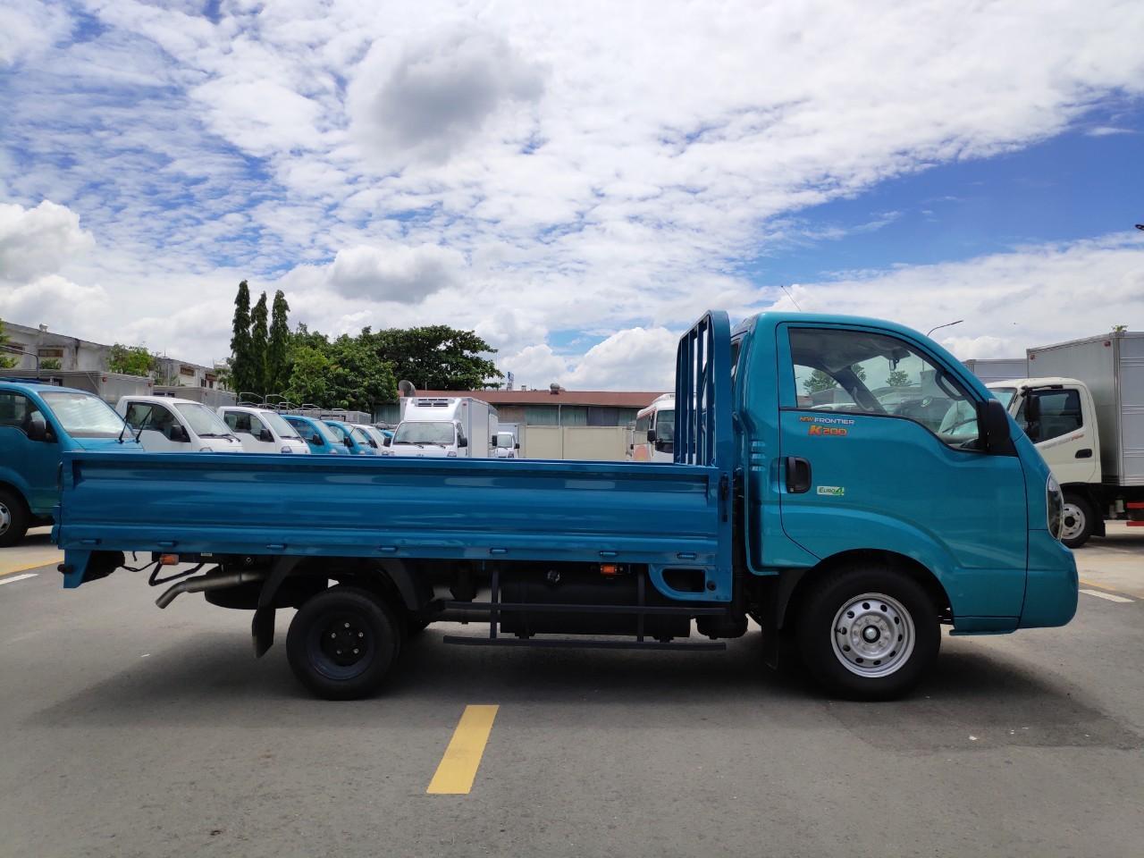 Bán Kia K200 2019 thùng lửng, ưu đãi 50% phí trước bạ tháng 10, liên hệ ngay: 0938802127
