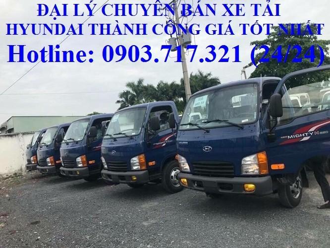 Xe tải Hyundai 2T4 - N250 thùng 4m3 (Hyundai New Mighty N250SL 2T4)