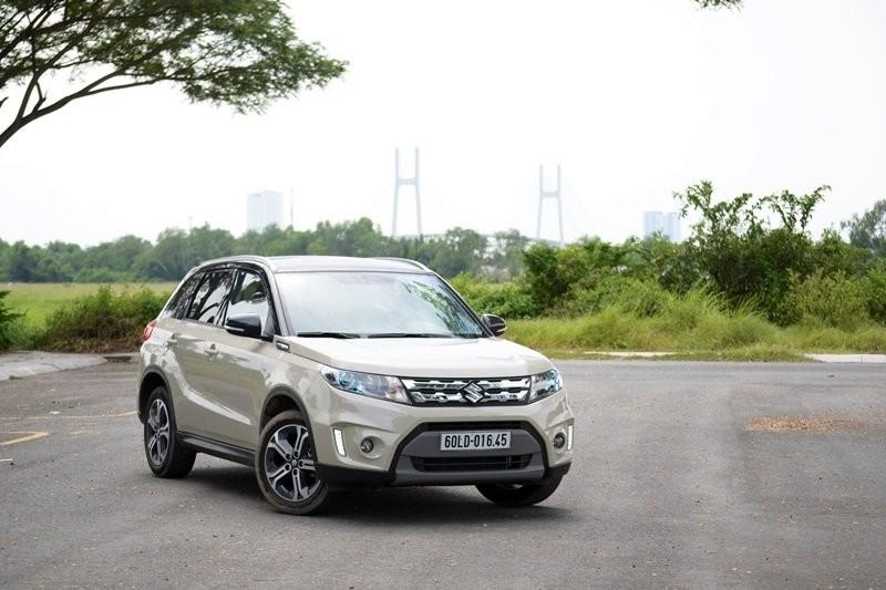 đánh giá Suzuki Grand Vitara 2016