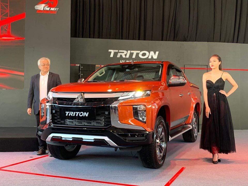 Bán xe bán tải Triton 2021 tại Nghệ An
