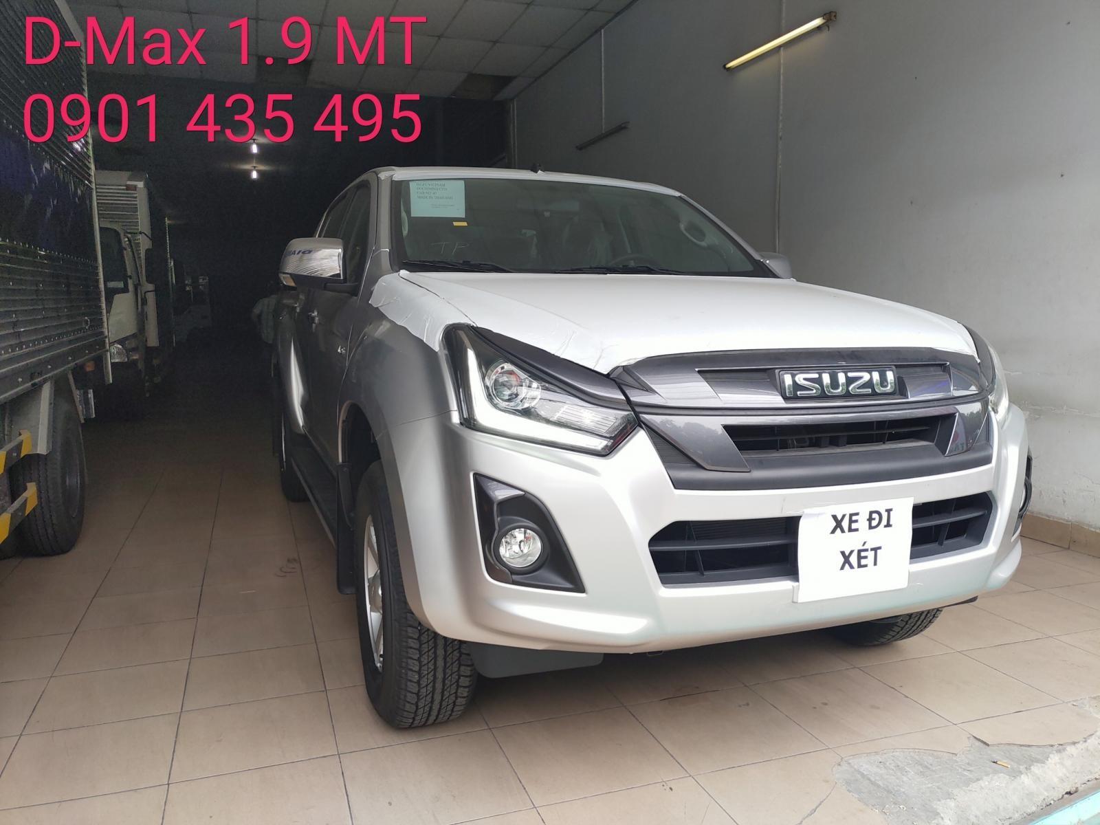 Bán Isuzu Dmax sản xuất 2019, màu xám, nhập khẩu nguyên chiếc, giá tốt