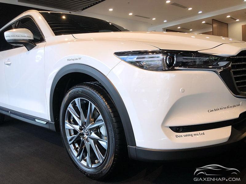 Mazda CX8 giảm khủng 100 triệu, hỗ trợ trả góp 85%