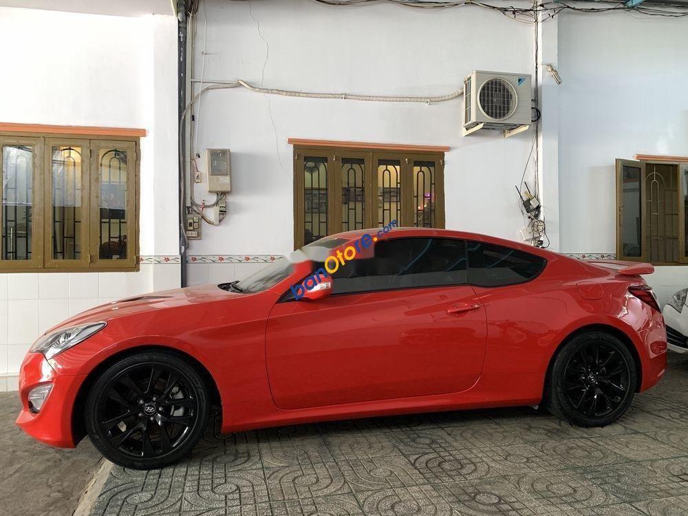 Bán ô tô Hyundai Genesis AT đời 2012, màu đỏ, nhập khẩu nguyên chiếc