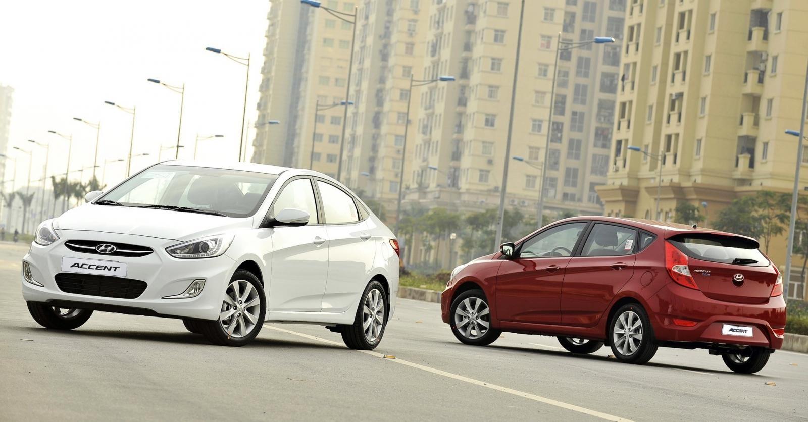 Hyundai Accent Blue: Mẫu sedan tầm trung trẻ trung, giá đẹp