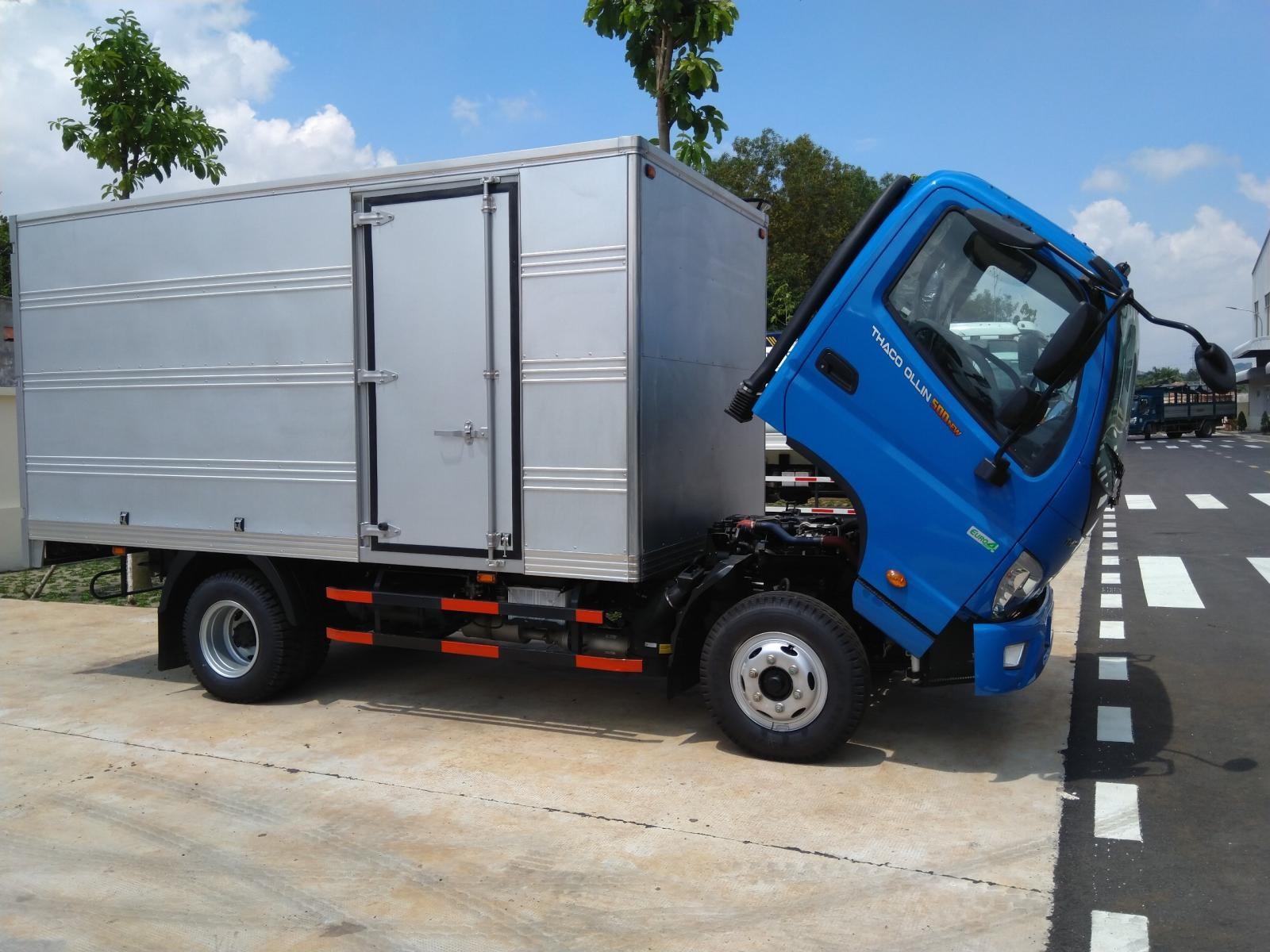 Bán xe tải Thaco 5 tấn tại Hải Phòng, xe tải Thaco Ollin500 giá tốt