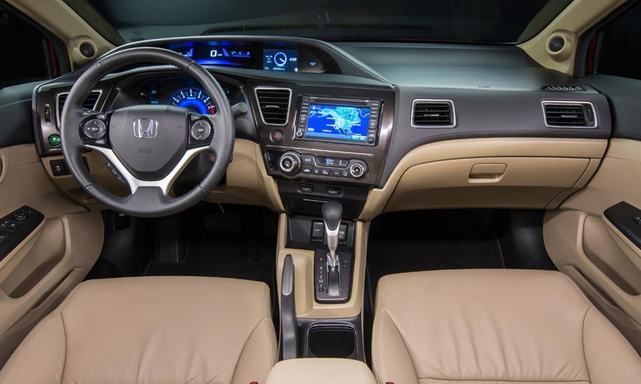 Công nghệ tiện ích trên Honda Civic 2014 hiện đại hơn