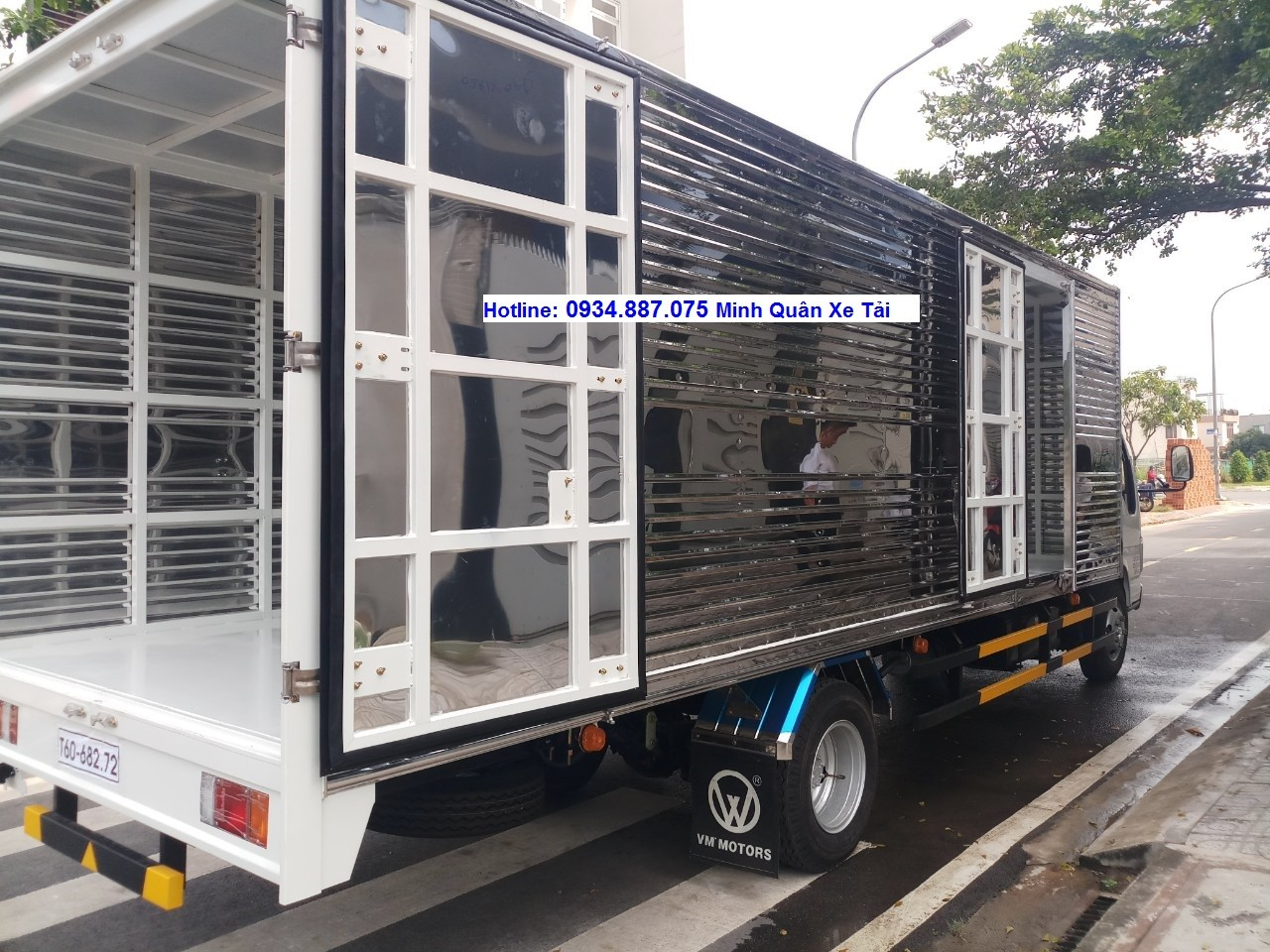 Bán xe tải Isuzu 1T9 thùng 6m2 - xe Isuzu VM 1.9 tấn thùng 6.2m