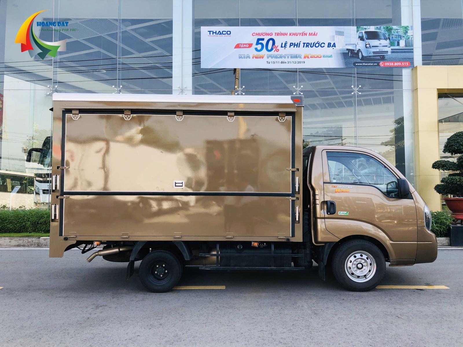 Bán xe tải Kia K250 bán hàng lưu động, tải trọng 2 tấn 4, đời 2020