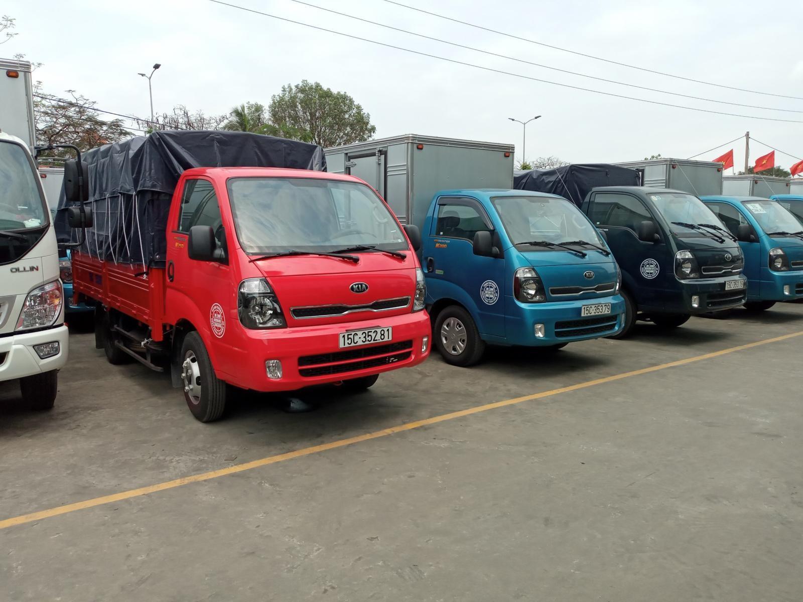 Chỉ cần 115tr quý khách mua được xe Kia 1 tấn 9 tại Thaco Trọng Thiện Hải Phòng