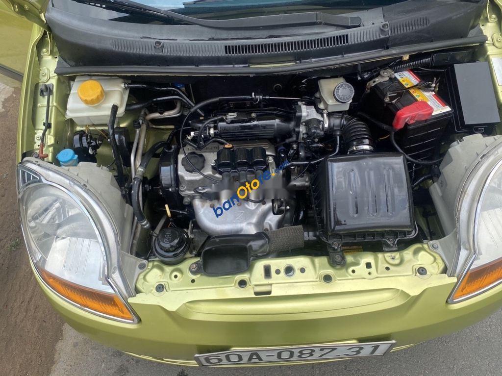 Cần bán lại xe Chevrolet Spark đời 2009, màu xanh