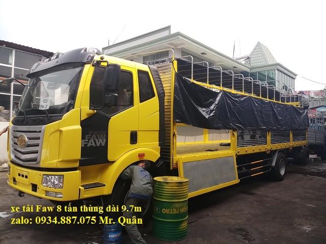 Bán xe tải Faw 8T (8 tấn) thùng dài 9m7