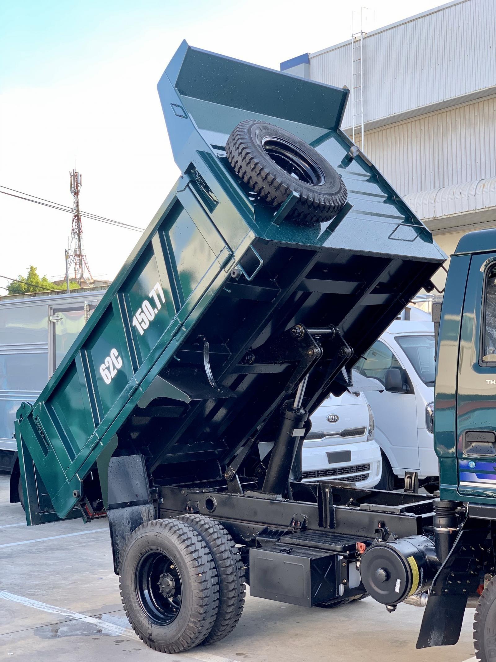 Xe Ben Thaco Forland FD250 - thùng 2,1 khối - tải trọng 2,49 tấn - 2020 - hỗ trợ trả góp