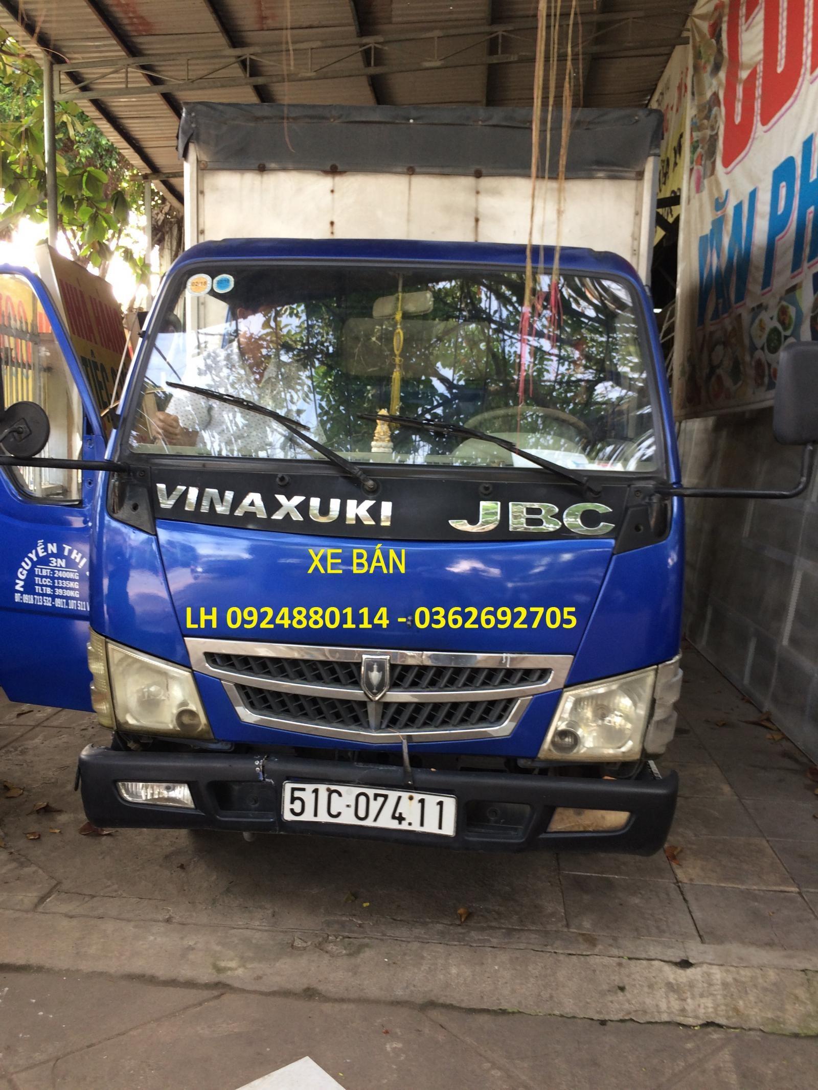 Bán xe ô tô tải Vinaxuki thùng kín dài 4,3 mét, 1T25 chạy TP ok, xe cũ đã qua sử dụng, chủ xe chăm xe kỹ máy móc tốt