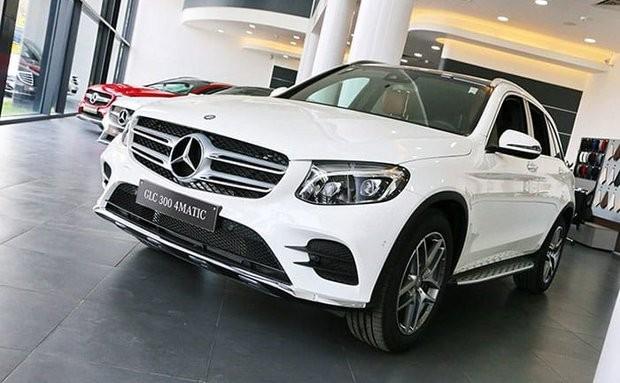 Lệ phí trước bạ của Mercedes GLC 300 lắp ráp giảm đến 100 triệu đồng