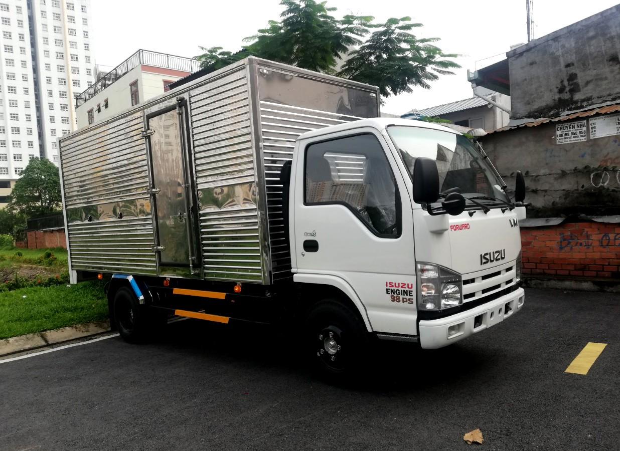 Thanh lý xe tải Isuzu Vĩnh Phát 1 tấn 9 thùng kín, giá rẻ như cho