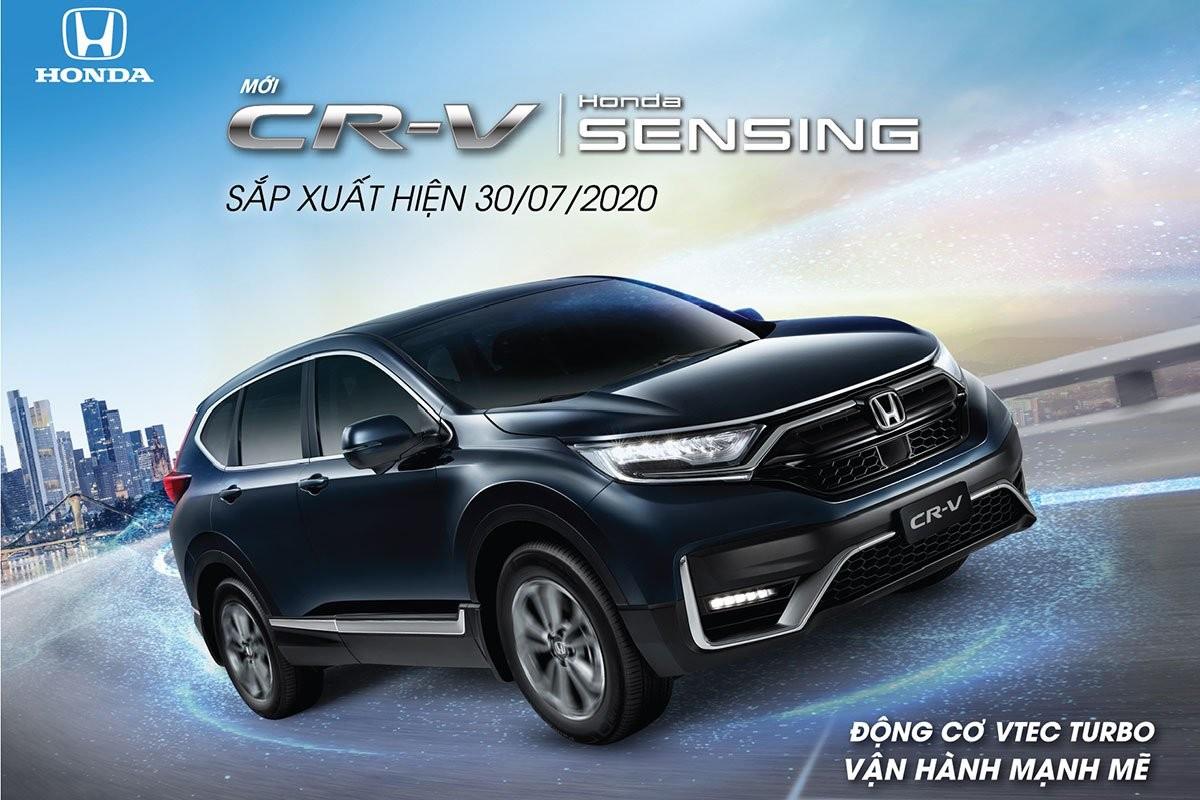 Honda CR-V 2020 lắp ráp ra mắt Việt Nam vào cuối tháng 07/2020