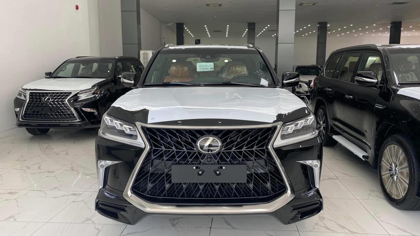 Bán Lexus LX 570 Super Sport sản xuất 2020, nhập trung đông và Mỹ, xe giao ngay, giá tốt nhất thị trường