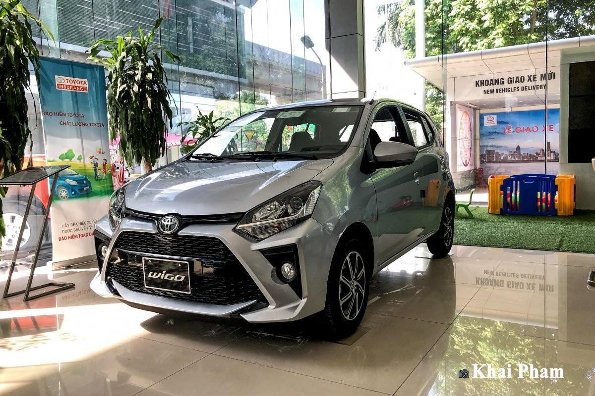 Toyota Wigo 2020 ra mắt với nâng cấp nội-ngoại thất
