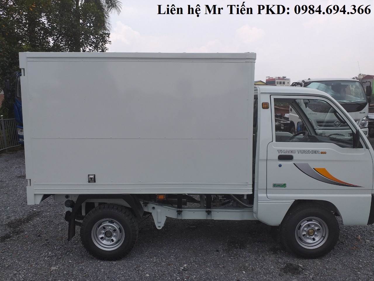 Xe tải nhẹ 5 tạ Thaco các loại thùng, chạy phố, giá từ 60tr trả trước, hỗ trợ trả góp lãi suất thấp