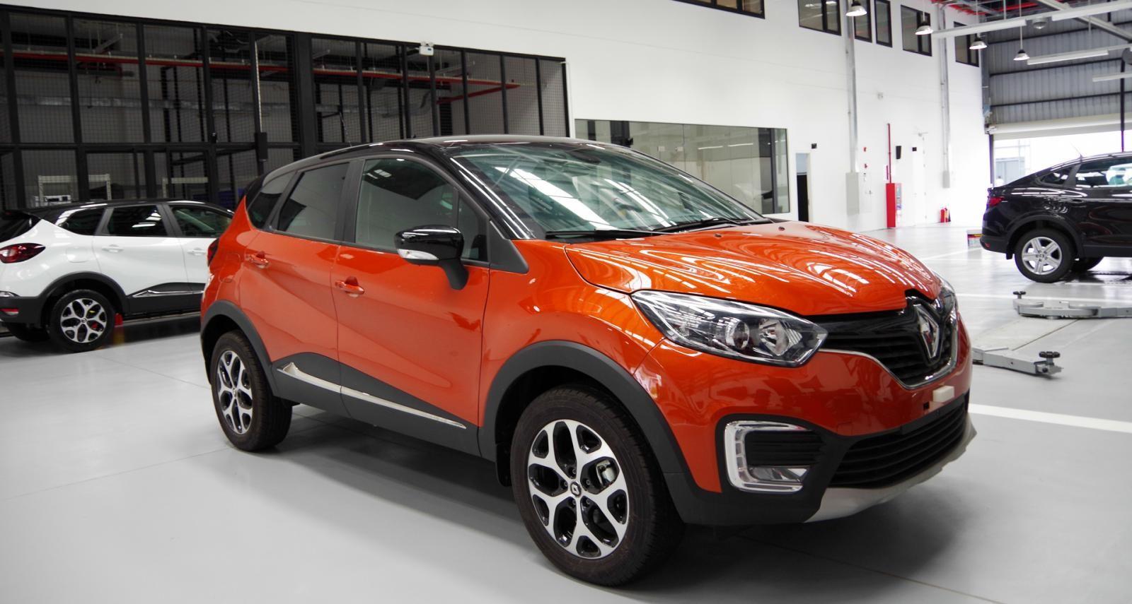 Bán Renault Kaptur nhập Nga nguyên chiếc, giao xe ngay