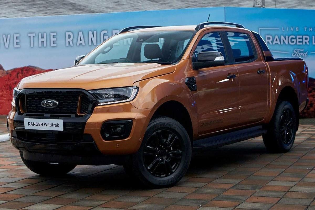 Ford Ranger 2021 sắp mở bán, giao xe tháng 12/2020.