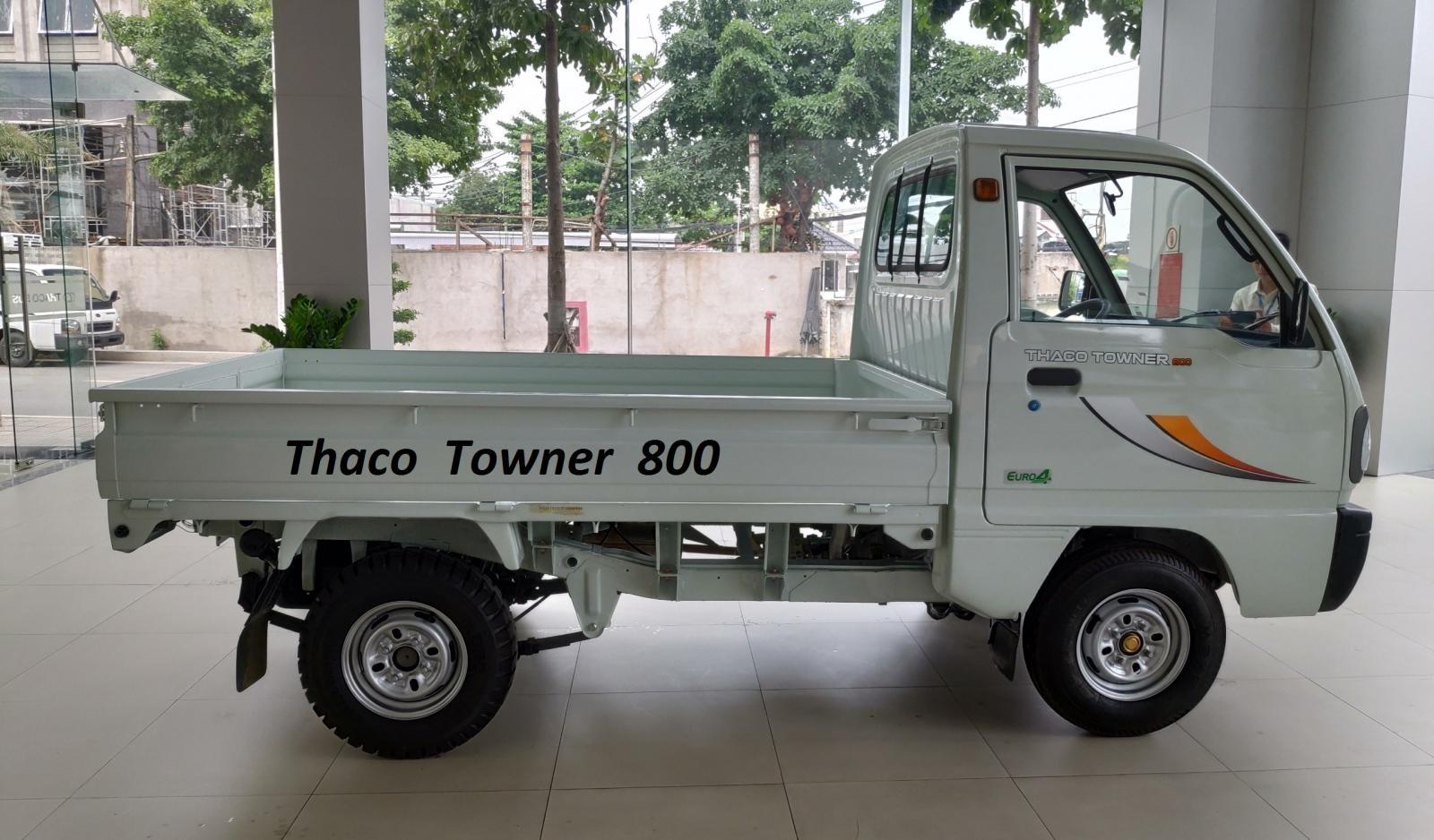 Thaco Hải Phòng bán Thaco 9 tạ Thaco Towner 800 thùng mui bạt, thùng kín