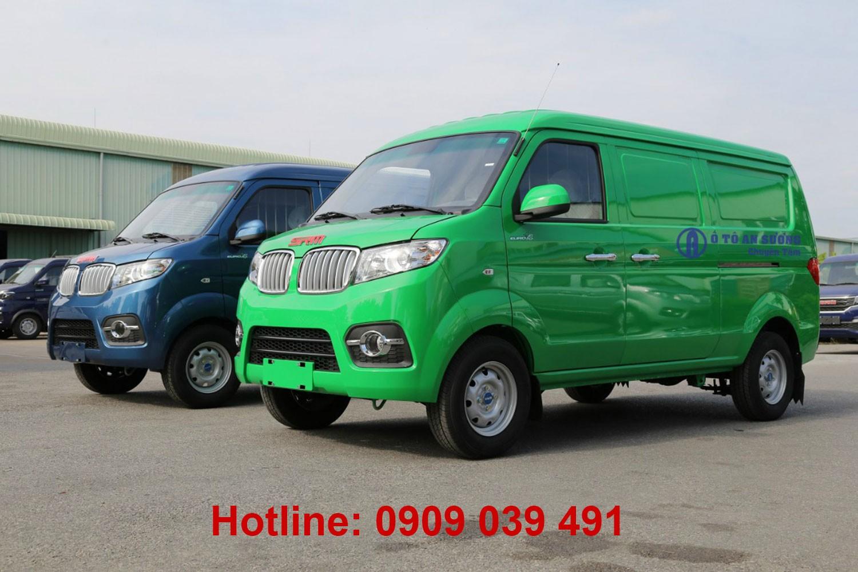 Xe Van SRM X30 2021 vận chuyển vào nội ô không lo cấm tải cấm giờ