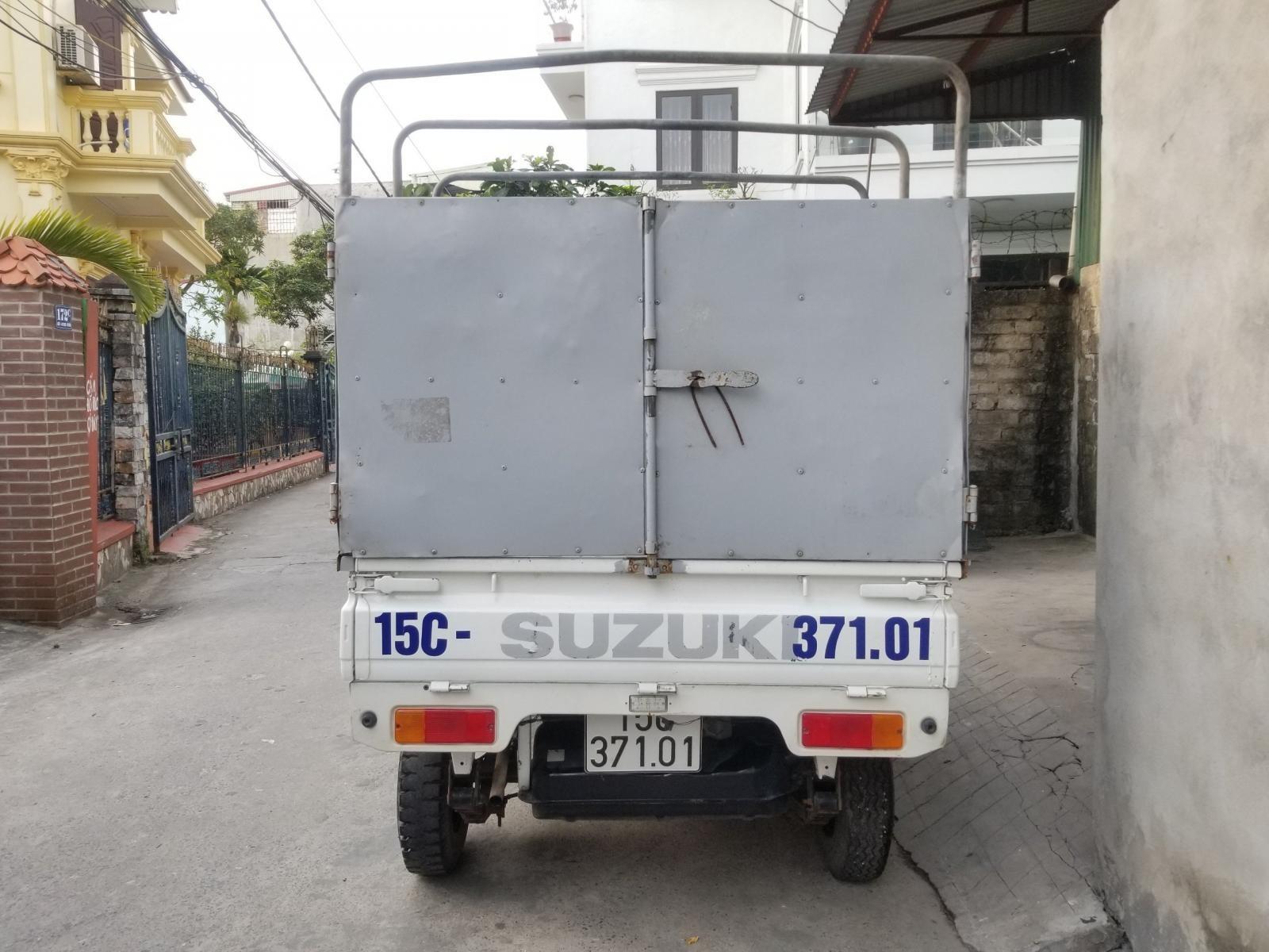 Bán xe tải 5 tạ cũ Suzuki thùng bạt đời 2012 tại Hải Phòng