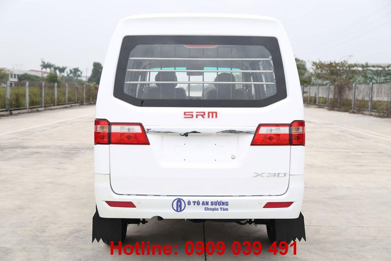 Xe Van SRM X30 2021 vận tải / du lịch 2 trong 1, không lo cấm tải cấm giờ