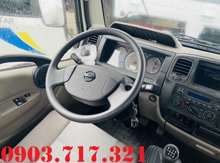Xe tải Nissan NS200 tải 1T99 thùng bạt. Xe tải Nissan Vinamoto 1T99 thùng bạt giá tốt