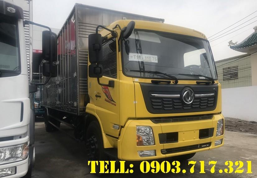 Xe tải Dongfeng 7.5 tấn thùng kín dài 9m7 mới 2021 giá tốt nhất