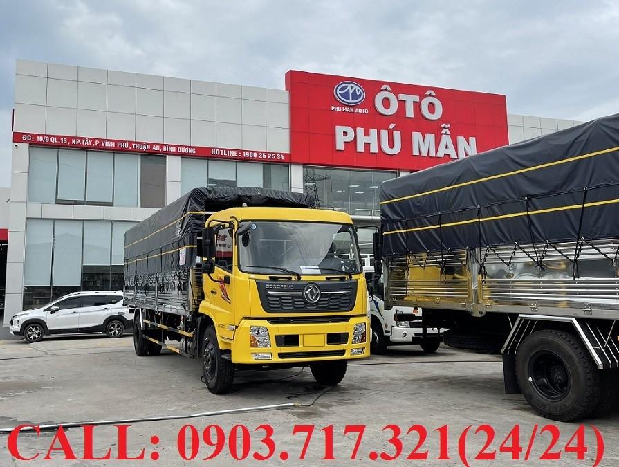 Cần bán xe tải DongFeng năm 2021, màu trắng, nhập khẩu, giá 980tr