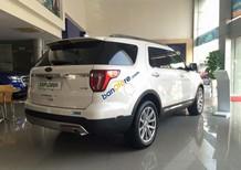 Bán Ford Explorer 2.3 Ecoboost 2018, màu trắng, nhập khẩu