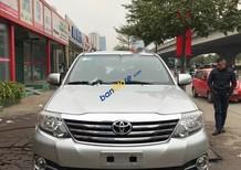 Cần bán xe Toyota Fortuner V sản xuất 2015, màu bạc