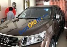 Bán xe Nissan Navara đời 2017, màu nâu, giá 645tr