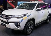 Cần bán xe Toyota Fortuner 2.7V(4x4) 2017, màu trắng, xe nhập khẩu Indonesia, chạy 10.000KM. LH: 0916 11 23 44