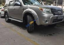 Bán Ford Everest 2.5L 4x2 AT đời 2010, màu bạc