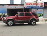 HOÀNG LONG AUTO bán xe Ford Escape 3.0 V6 2005, màu đỏ độc duy nhất tại VIỆT NAM