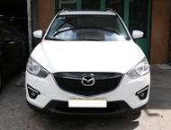 Cần bán gấp Mazda CX 5 đời 2013, màu trắng, số tự động, giá tốt