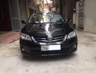 Bán ô tô Toyota Corolla altis 1.8G AT Phom mới đời 2012, màu đen, còn mới