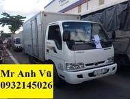 Xe tải Kia K165 tải 2 tấn 4. Vô tư vào thành phố bàn ngày. Giá ưu đãi. Hỗ trợ cho vay với lãi suất thấp. Giao xe ngay