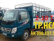 TP. HCM Thaco Ollin 500b mẫu mới, thùng mui bạt Inox430
