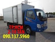 TP. HCM Thaco Ollin 700B Phiên bản mới thùng mui bạt inox304, giá tốt