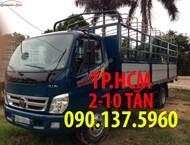 Bán xe Thaco Ollin 700B 2017, thùng kín tôn lạnh phiên bản mới, 482 triệu