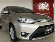 Bán xe Toyota Vios E CVT, Vios G CVT, Vios E 2018 hỗ trợ mua xe trả góp lãi suất thấp